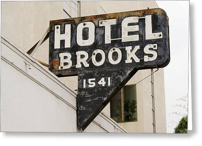 Hotel Brooks Greeting Card