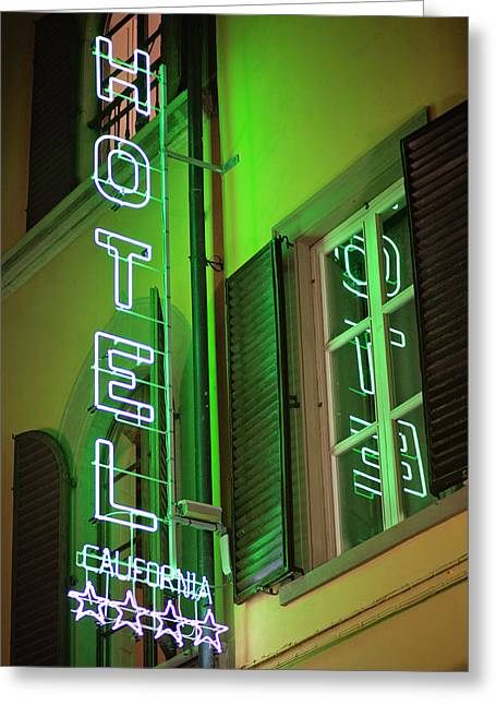Greeting Card featuring the photograph Hotel California - Rome Italy Photography by Melanie Alexandra Price