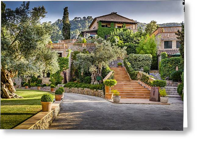 Hotel Valldemossa Greeting Card by Mike Walker