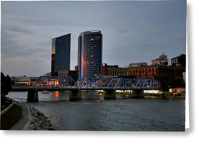 Hotels On The Grand River Greeting Card