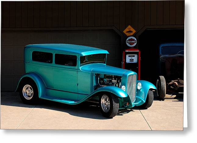 Hotrod Car Greeting Card