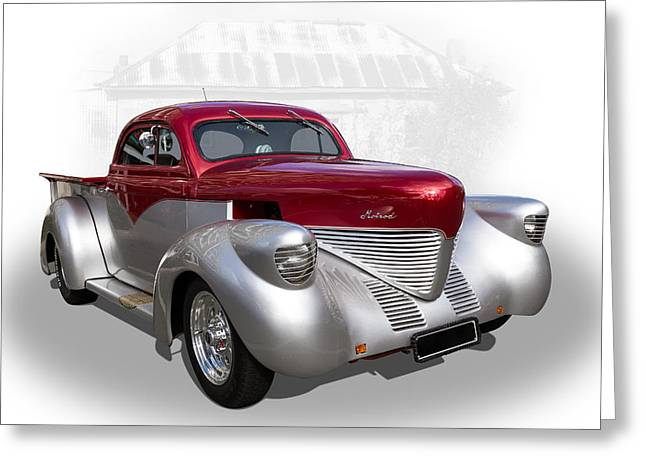 Hotrod Utility Greeting Card