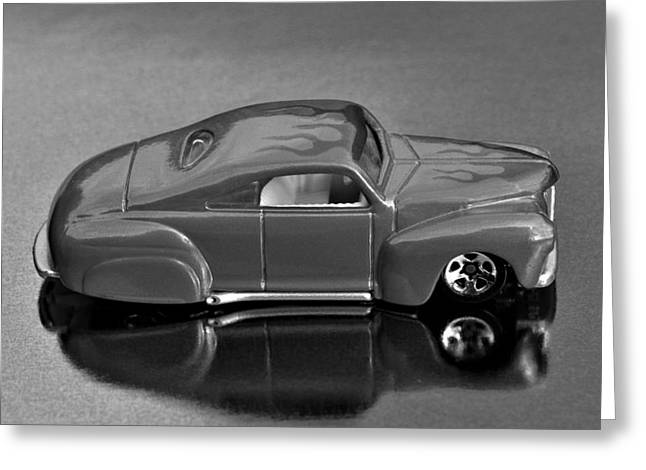 Hotwheels Tail Dragger   Greeting Card by Bruce Roker