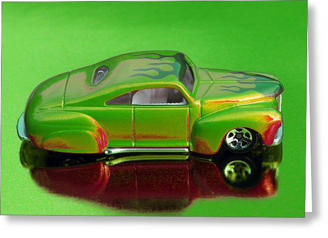 hotwheels tail dragger PS Greeting Card by Bruce Roker