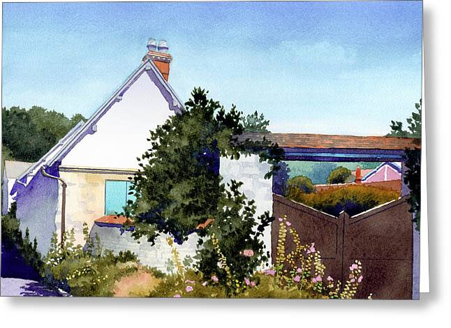 House At Giverny Greeting Card