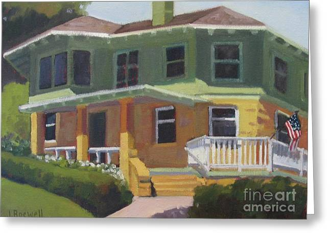 House At Knowlwood Greeting Card