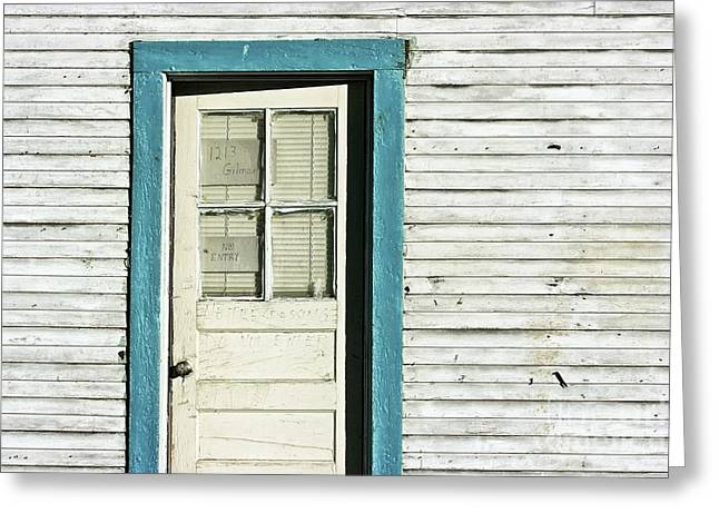 House Detail Carson City Nevada After Harry Callahan Greeting Card
