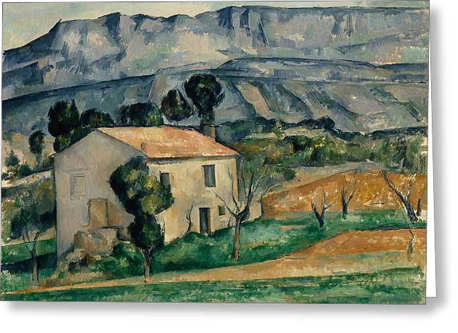 House In Provence 1886-1890 Greeting Card by Paul Cezanne