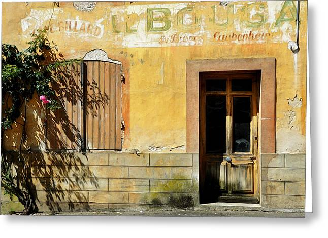 House In Vianne France Greeting Card