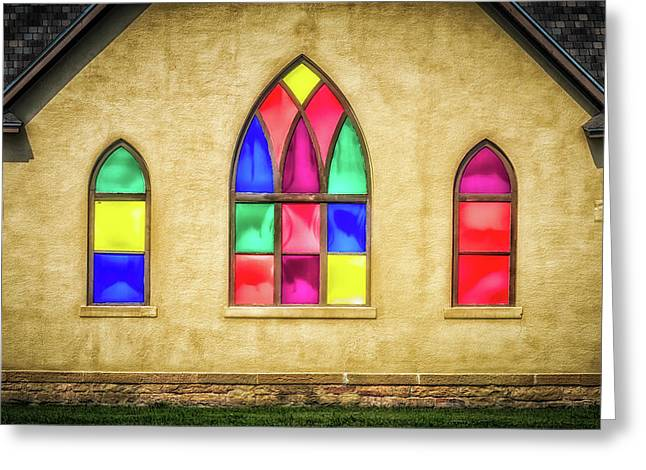 House Of Worship Greeting Card by James Barber