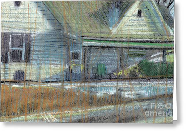House On Cherokee Street Greeting Card by Donald Maier