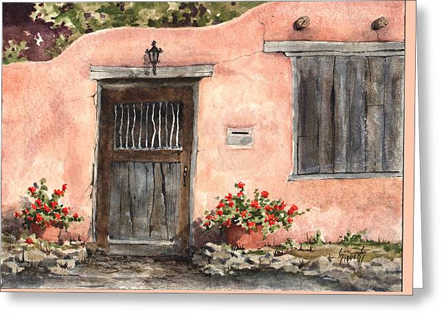 House On Delgado Street Greeting Card by Sam Sidders