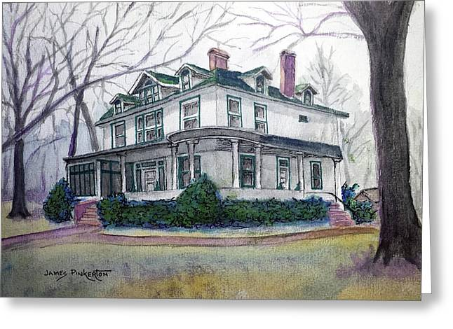 House On Main St. Greeting Card
