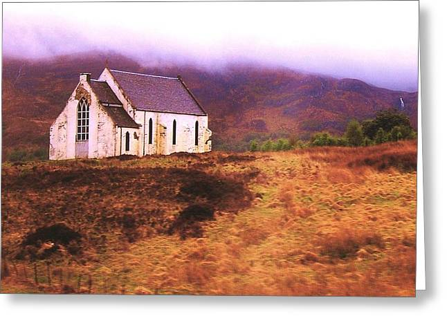 House On The Prairie Greeting Card