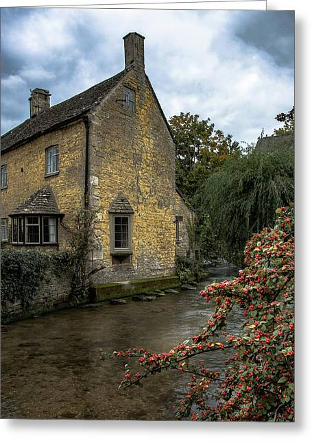 House On The Water Greeting Card