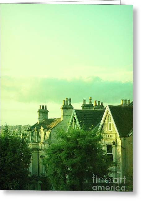 Greeting Card featuring the photograph Houses by Jill Battaglia