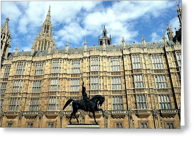 Houses Of Parliament Greeting Card by Dmytro Toptygin