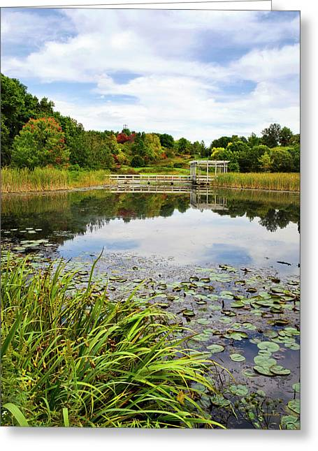 Houston Pond Greeting Card