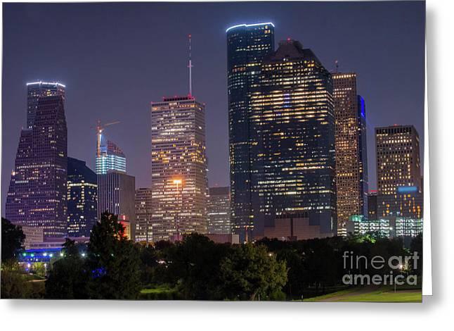 Houston Syline Greeting Card