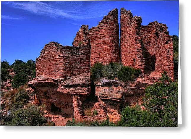 Hovenweep Greeting Card