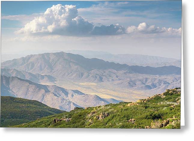 Greeting Card featuring the photograph Hovering Over Granite Mountain by Alexander Kunz