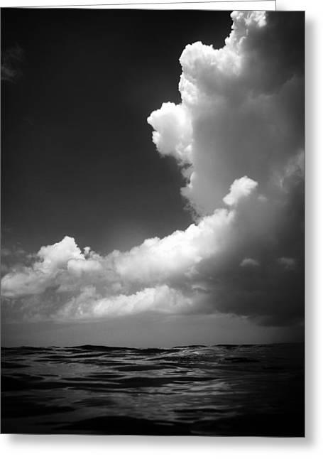How Deep Is The Ocean How High Is The Sky Greeting Card by Mauricio Jimenez