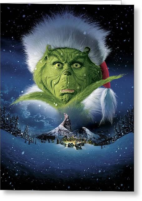 How The Grinch Stole Christmas 2000  Greeting Card