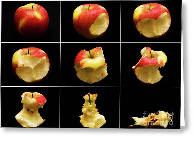 How To Eat An Apple In 9 Easy Steps Greeting Card