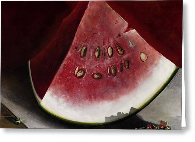 How To Grow Watermelon Greeting Card by Stephen Schubert