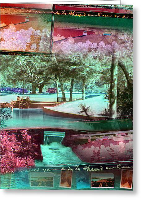 How Would You Like To Spend An Hour Greeting Card by Deborah Hildinger