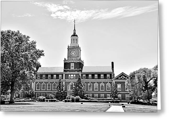 Howard University - Founders Library Greeting Card by Brendan Reals