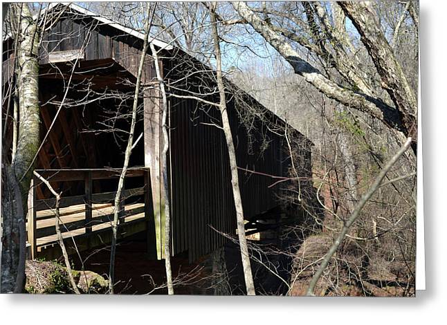 Howards Covered Bridge Greeting Card