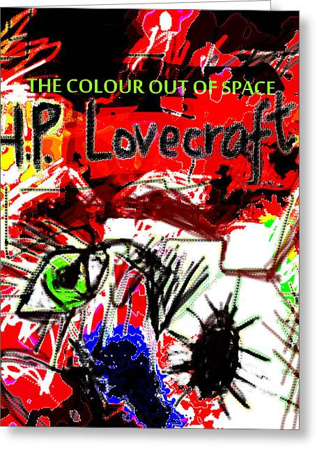 Hp Lovecraft Poster  Greeting Card