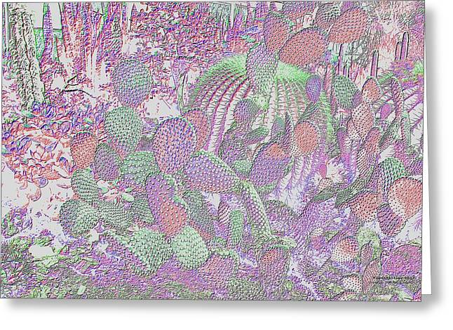Greeting Card featuring the digital art Ht2032 by Brian Gryphon