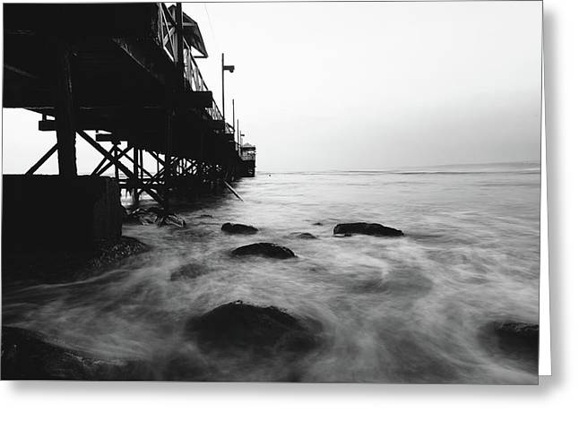 Huanchaco Pier Greeting Card