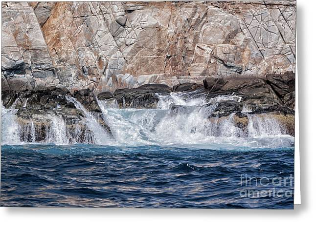 Huatulco's Texture Greeting Card