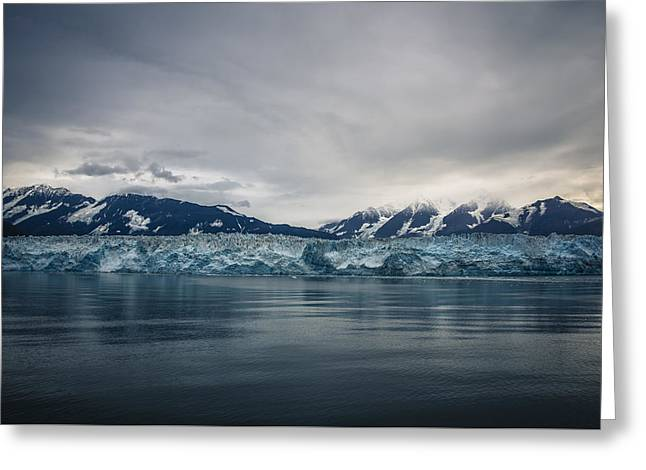 Hubbard Glacier Greeting Card by Robin Williams