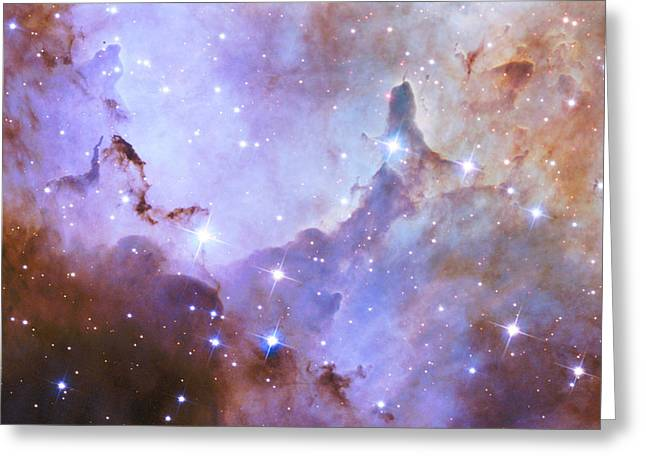 Greeting Card featuring the photograph Hubble Space Telescope Celebrates 25 Years Of Unveiling The Universe by Nasa