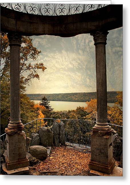 Hudson River Overlook Greeting Card