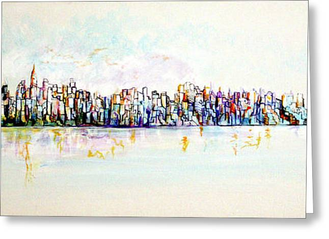 Hudson River View Greeting Card
