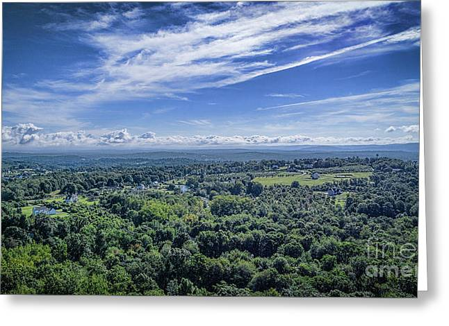 Hudson Valley View Greeting Card