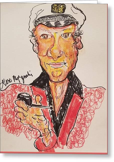 Hugh Hefner Greeting Card