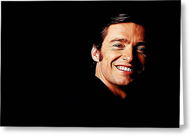Hugh Jackman Greeting Card