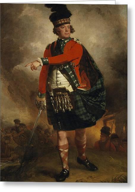 Hugh Montgomerie, 12th Earl Of Eglinton Greeting Card by John Singleton Copley