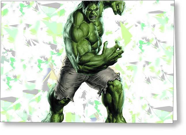 Hulk Splash Super Hero Series Greeting Card