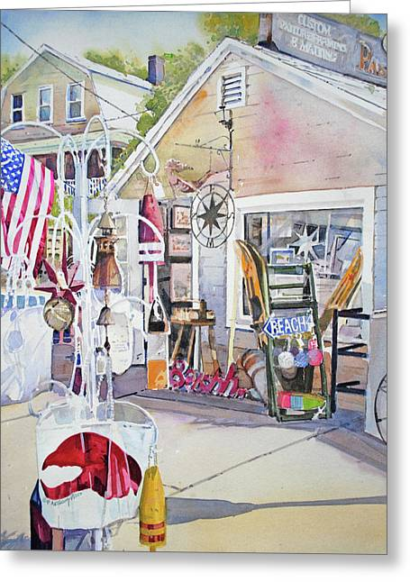 Hull Of A Shoppe Greeting Card