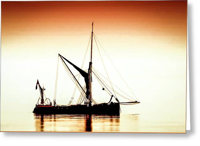 Greeting Card featuring the photograph Humber Coble by Cliff Norton