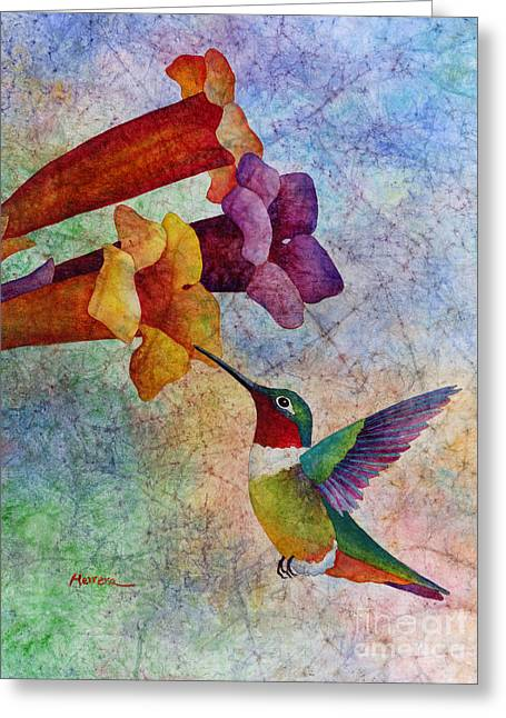 Hummer Time Greeting Card