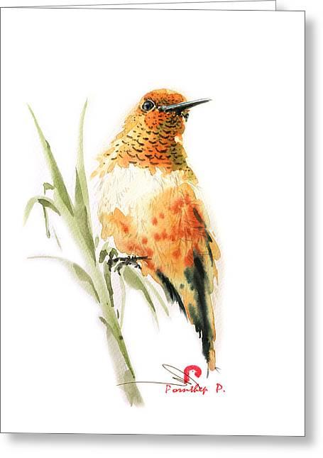 Hummingbird 2 Greeting Card
