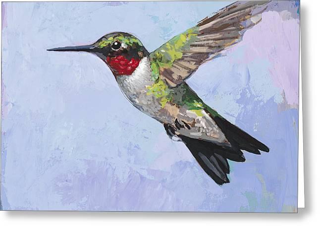 Hummingbird #3 Greeting Card